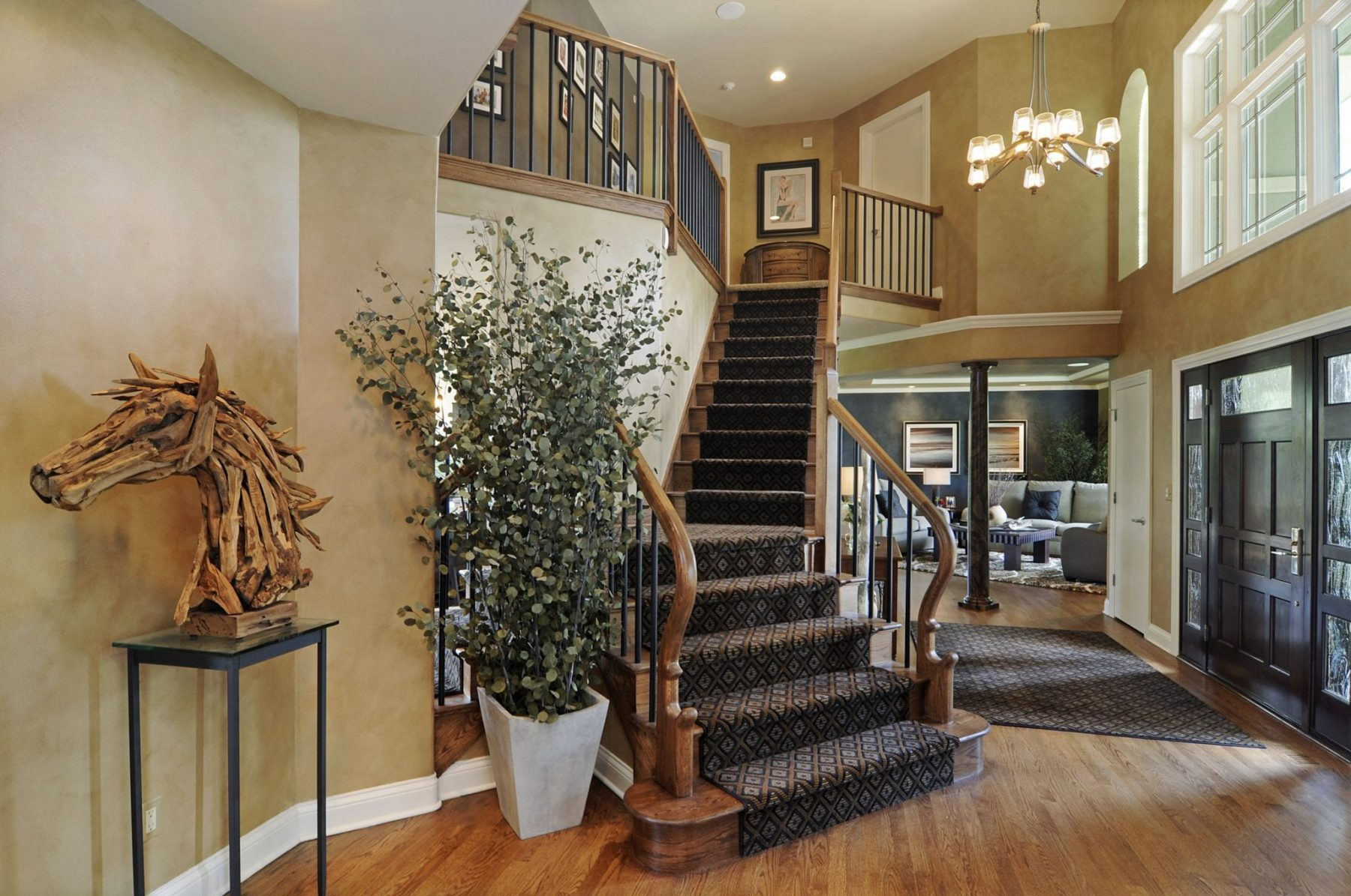 The Entryway to the Home - Home Renovations   Interior Designer Illinois