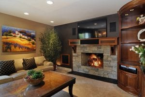 Family Room Renovation Barrington, Wilmette, Lake Forest Illinois