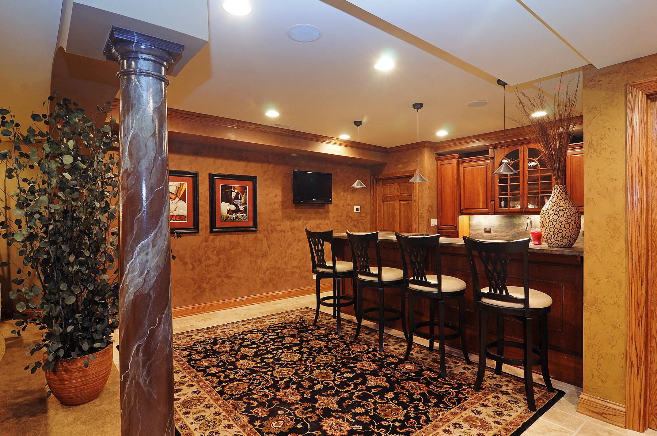 Basement Entertainment Room Portfolio Expert Design Build Consult - Bathroom remodeling geneva il
