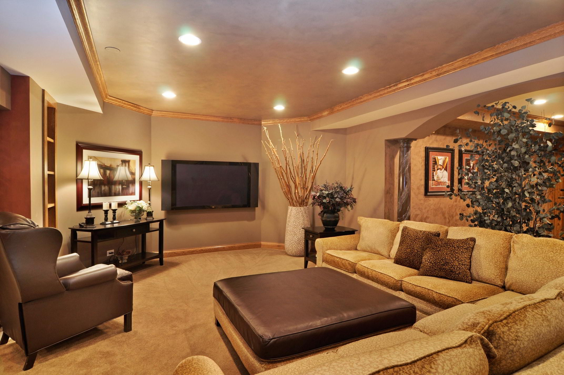 Home Remodeling Interior Design Arlington Heights IL | Basement Renovations