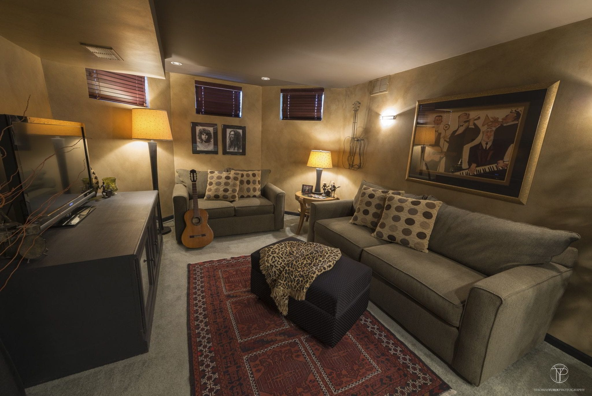 Basement Entertainment Design Remodeling