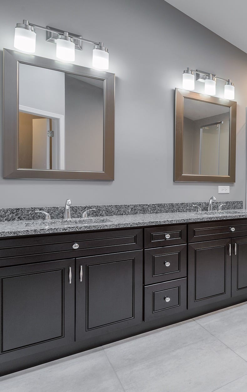Master Bathroom Remodeling Cabinetry