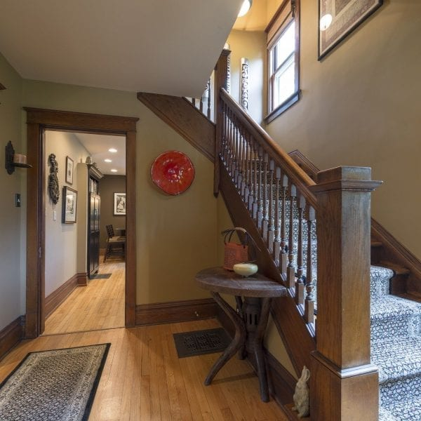 DF Design, Inc | Interior Designer | Craftsman style home foyer entrance