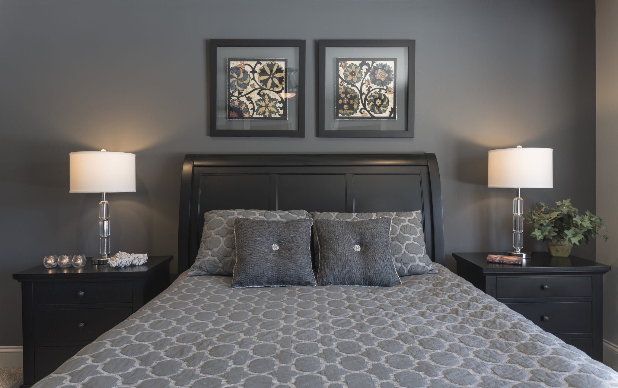 Crystal Lake Bedroom | Full Service Interior Designer