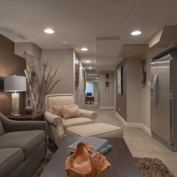 Basement Renovation - Color & Design Consultations | Custom Home Furnishing & Home Accessories