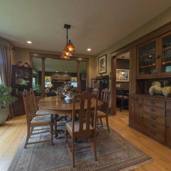 Interior Design Plan included paint colors, custom window treatments & select home furnishings.
