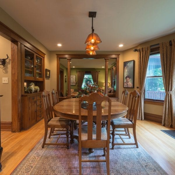 Architectural features were incorporated in the Design Plan for this Geneva, IL home.