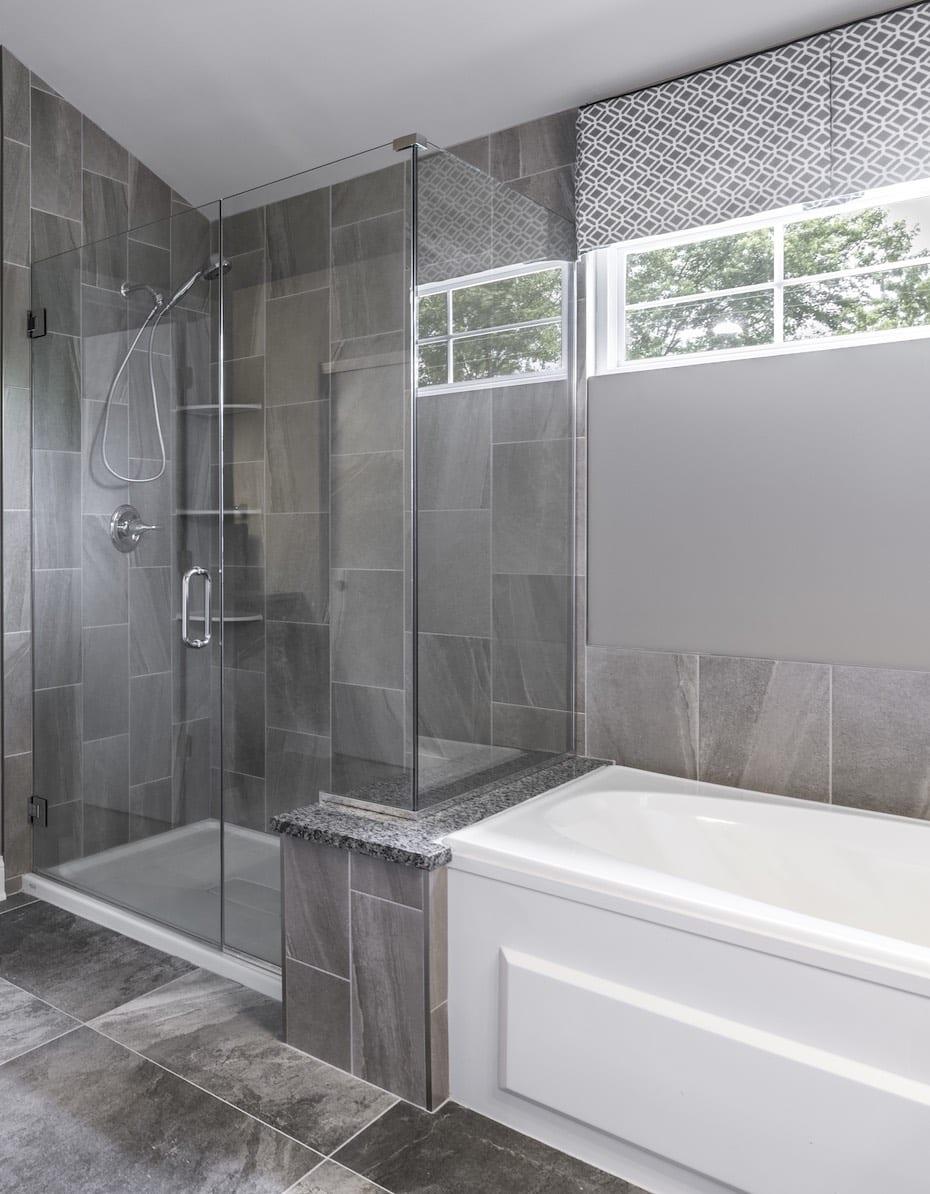Shower Tub Bathroom Design
