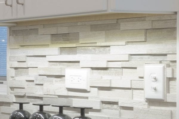 Textured Backsplash