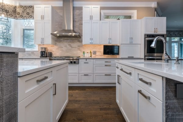 Kitchen Design | White Kitchen Cabinetry
