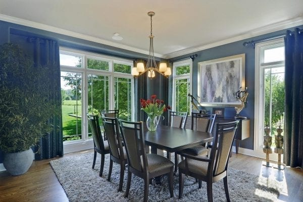 Illinois Home Renovations, Dining Rooms Interior Design and Furnishings