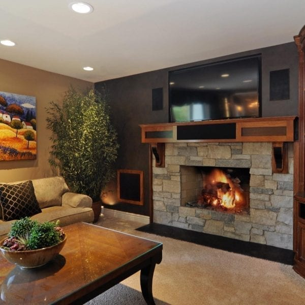 Home Remodeling Interior Design Northbrook IL | Family Room Renovations