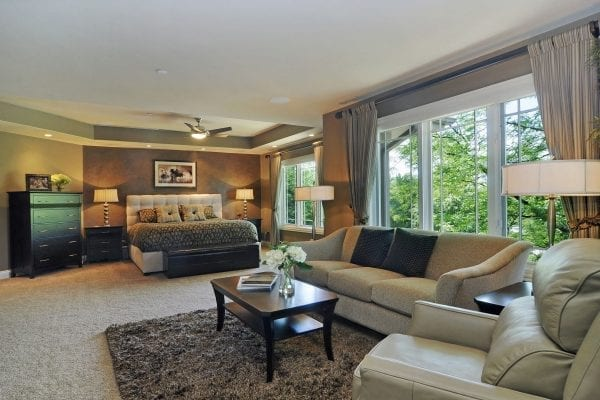 Long Grove Home Remodeling Master Bedroom Suite Design | Illinois Dennis Frankowski DF Design, Inc