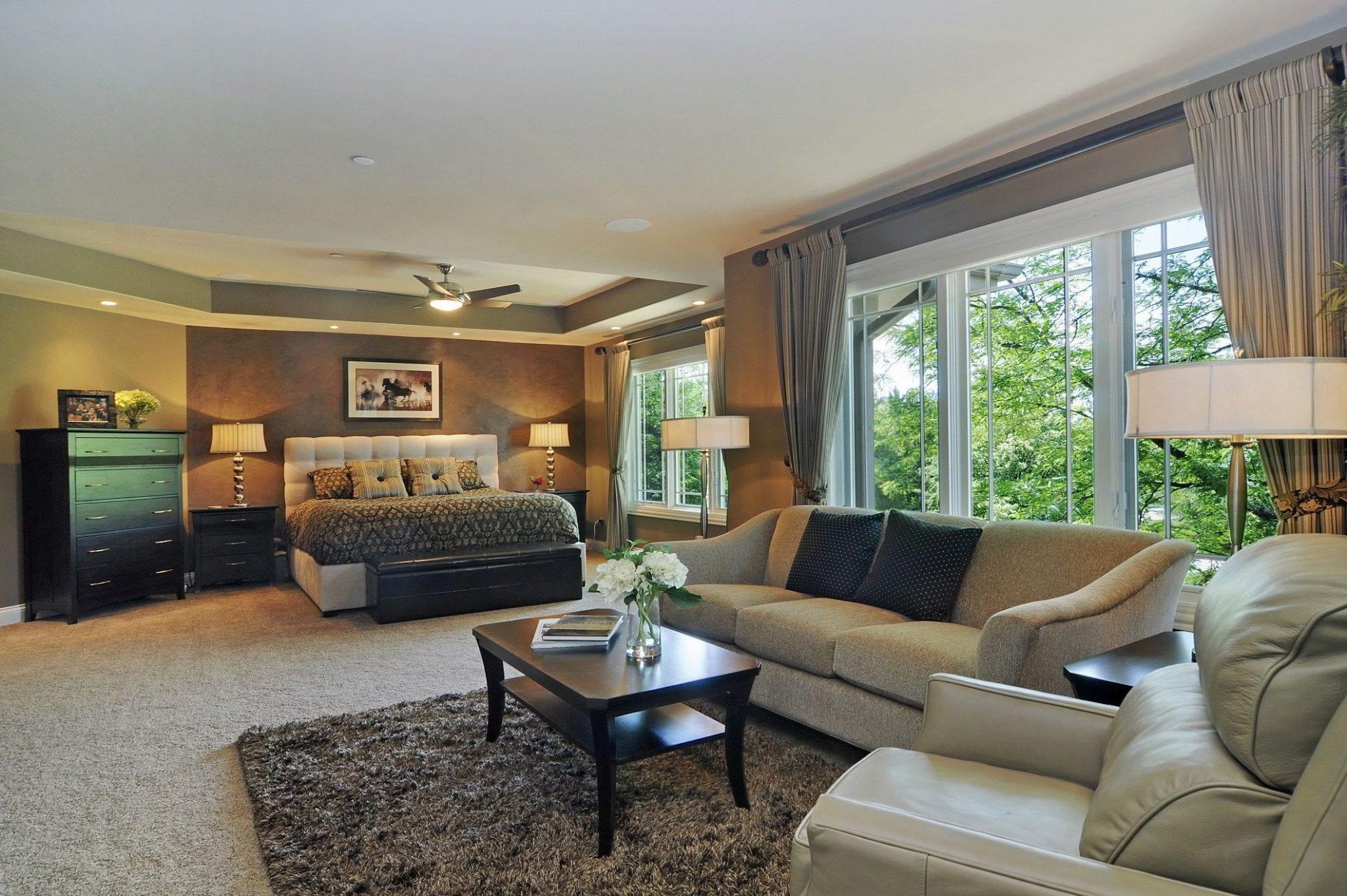 Long Grove Home Remodeling Master Bedroom Suite Design | Illinois Dennis Frankowski DF Design, Inc