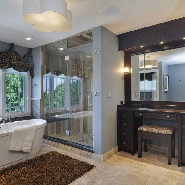Master Bathroom Interior Design Remodeling Long Grove Illinois