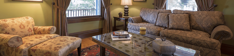 Living Room Furniture Window Treatments Home Furnishings Lake Forest IL
