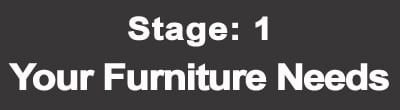Stage 1 - Identify your furniture and home decor needs