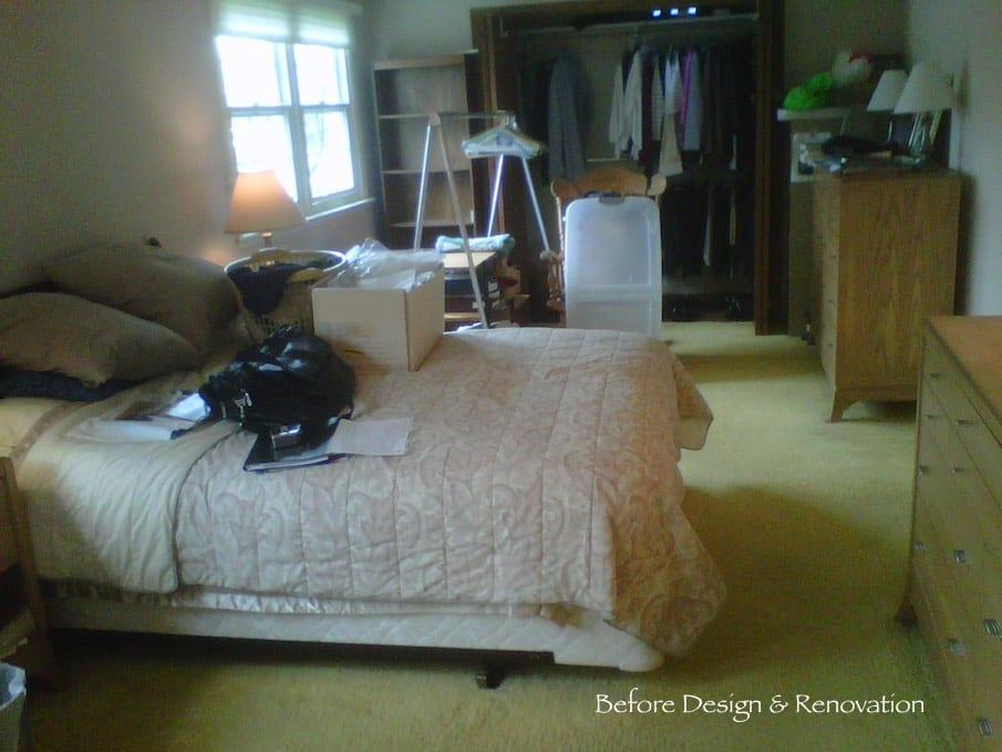 Master Bedroom Before Renovation | DF Design Inc