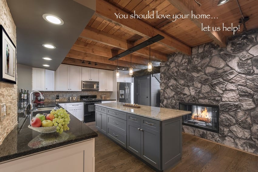 Rustic Contemporary Kitchen Remodeling Design Build