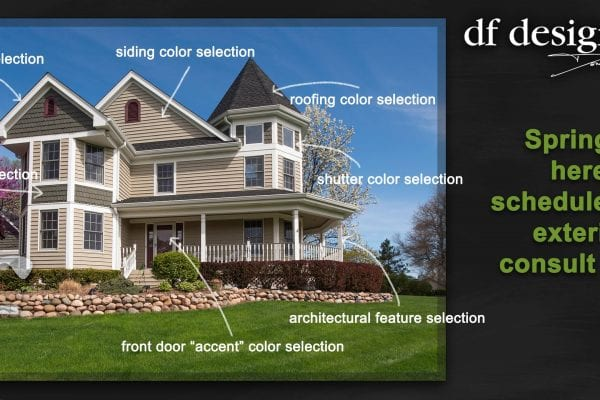 Exterior Painting Consultation | Exterior Home Renovation Design