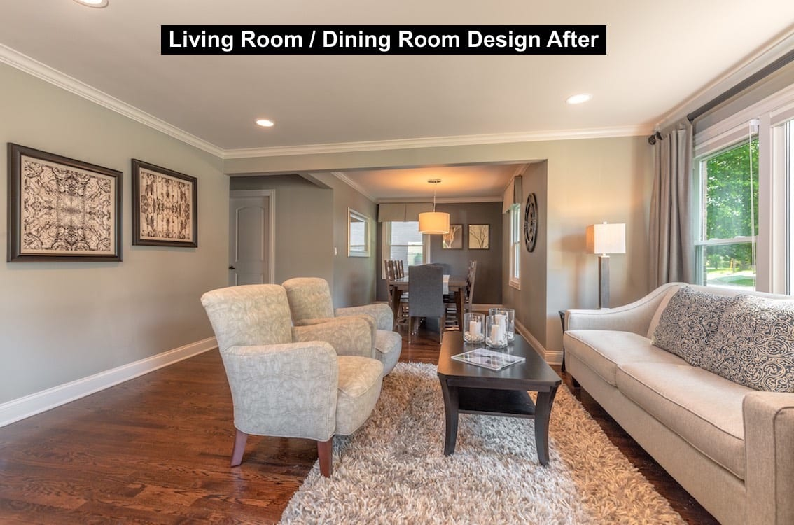 Living Room Design After