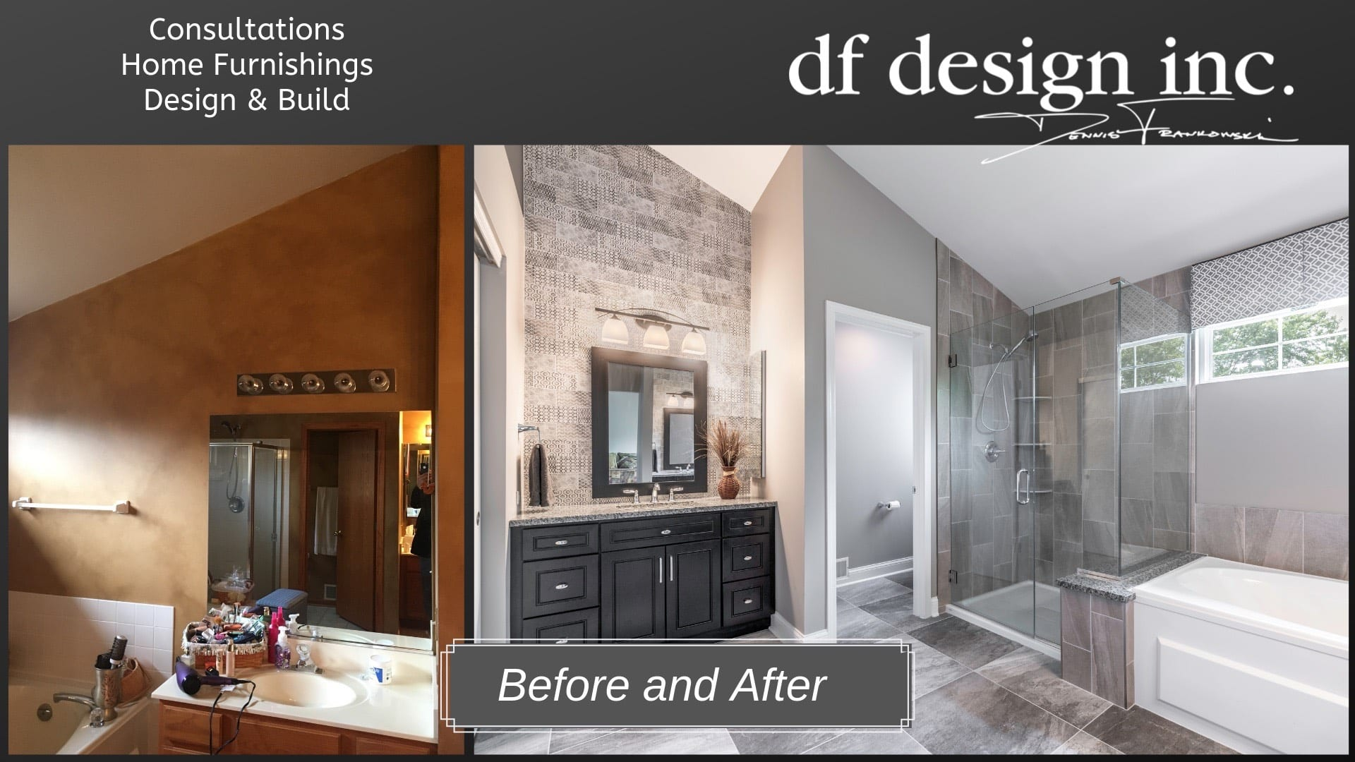 Master Bathroom B&A
