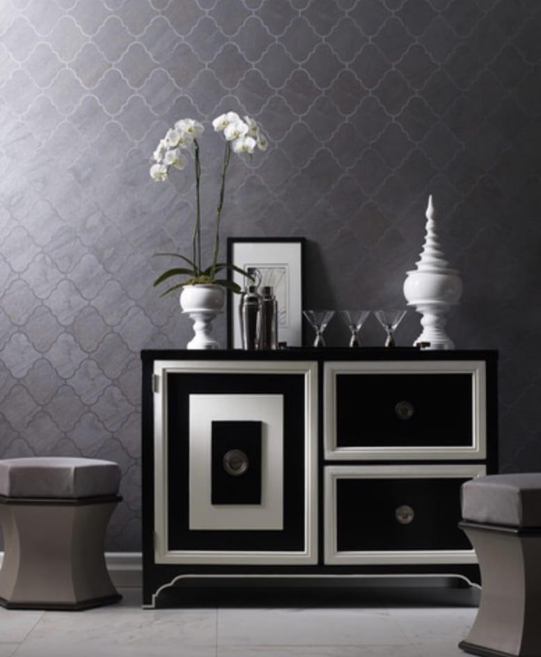 Geometric Wallpaper Trends