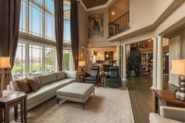 Family Room Interior Designer Long Grove Illinois
