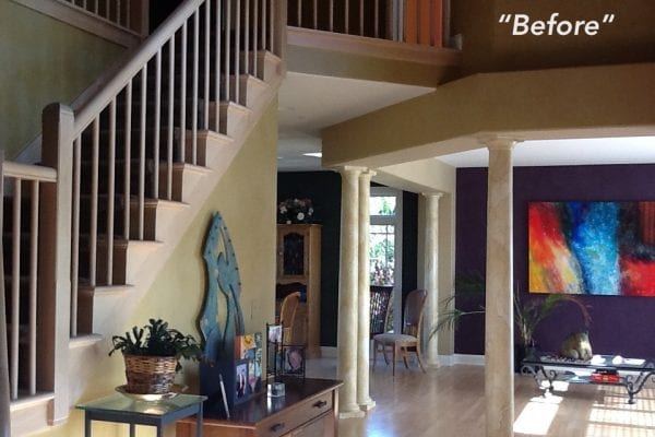 Before Photo - Paint Color Consultation
