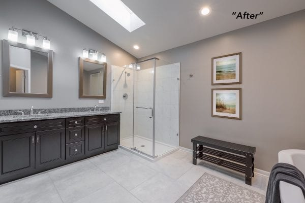Master Bathroom After