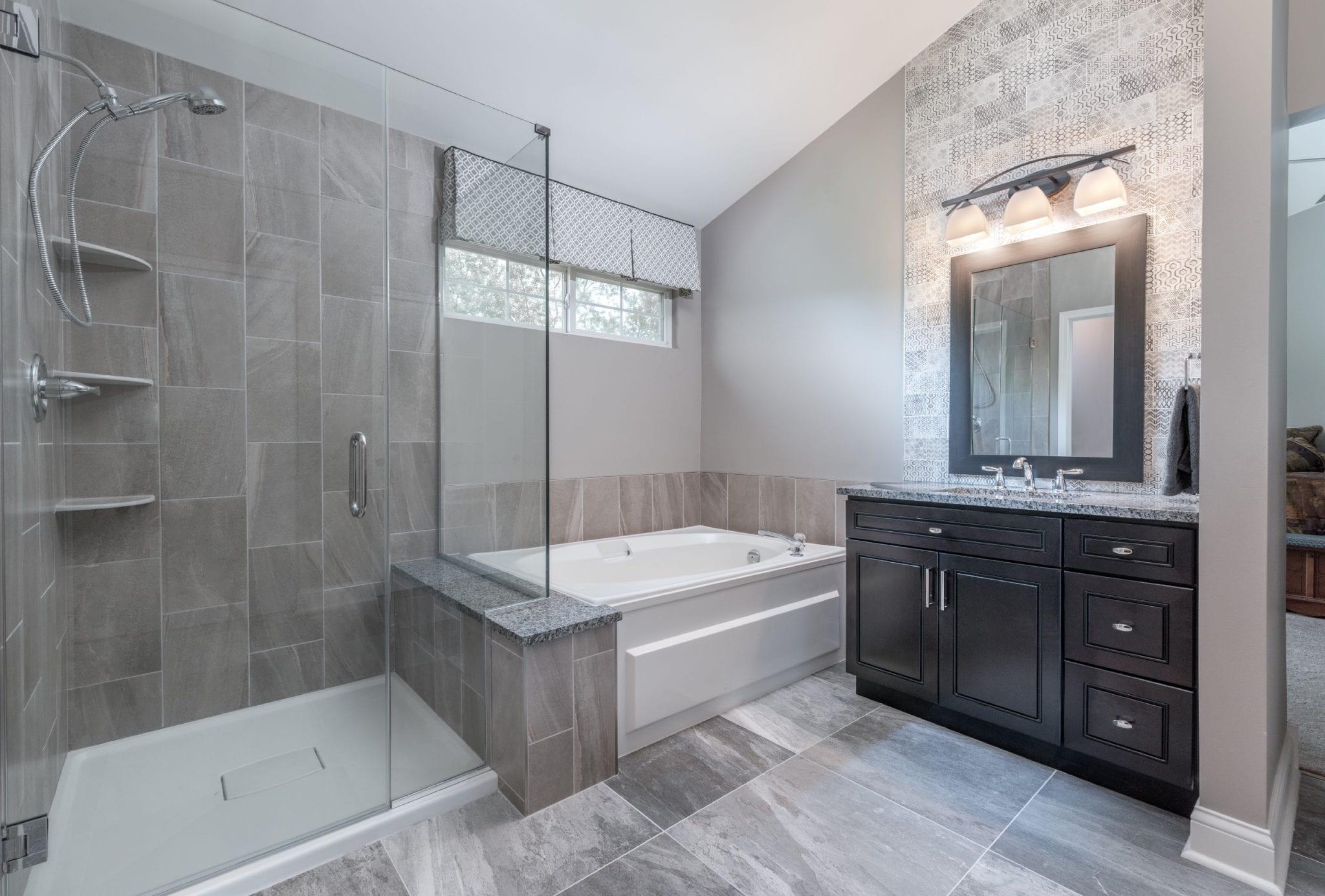 Master Bathroom Custom Design Build Mundelein
