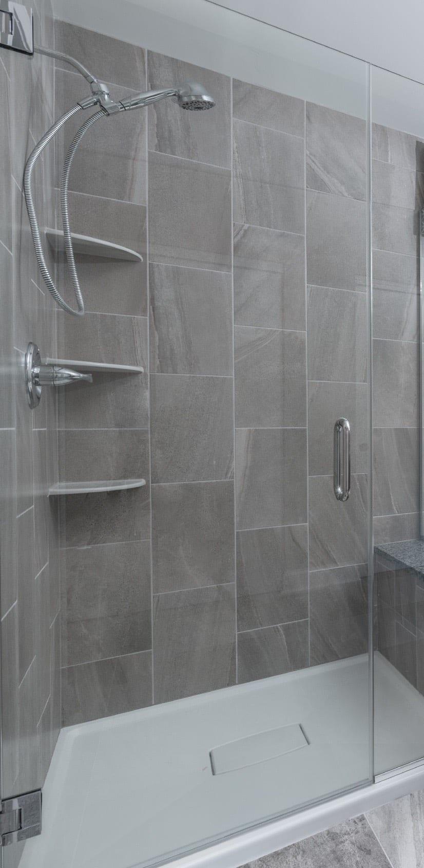 Master Bathroom Shower Design Mundelein