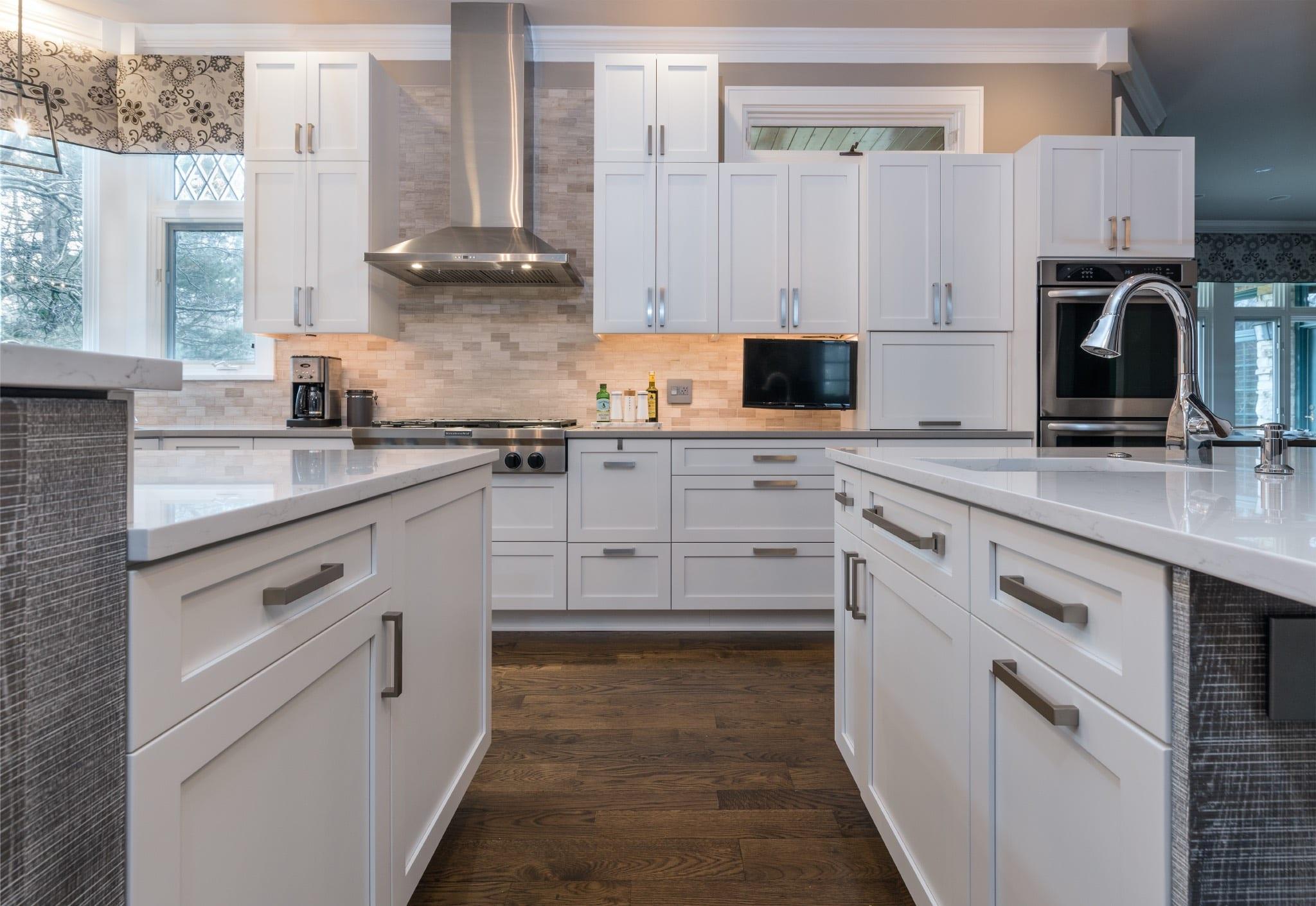 White Kitchen Cabinetry Burr Ridge IL
