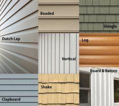 Siding Styles Exterior Consultation